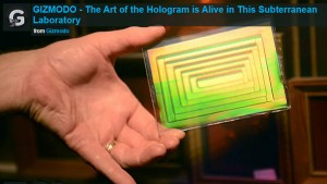 Gizmodo Art of Holography Alive