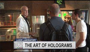 PBS: Metro Focus - Inside Dr. Laser's Holographic Studios